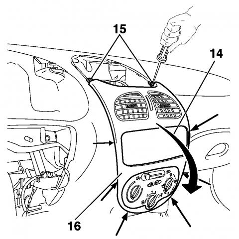 Панель приборов пежо 206 инструкция